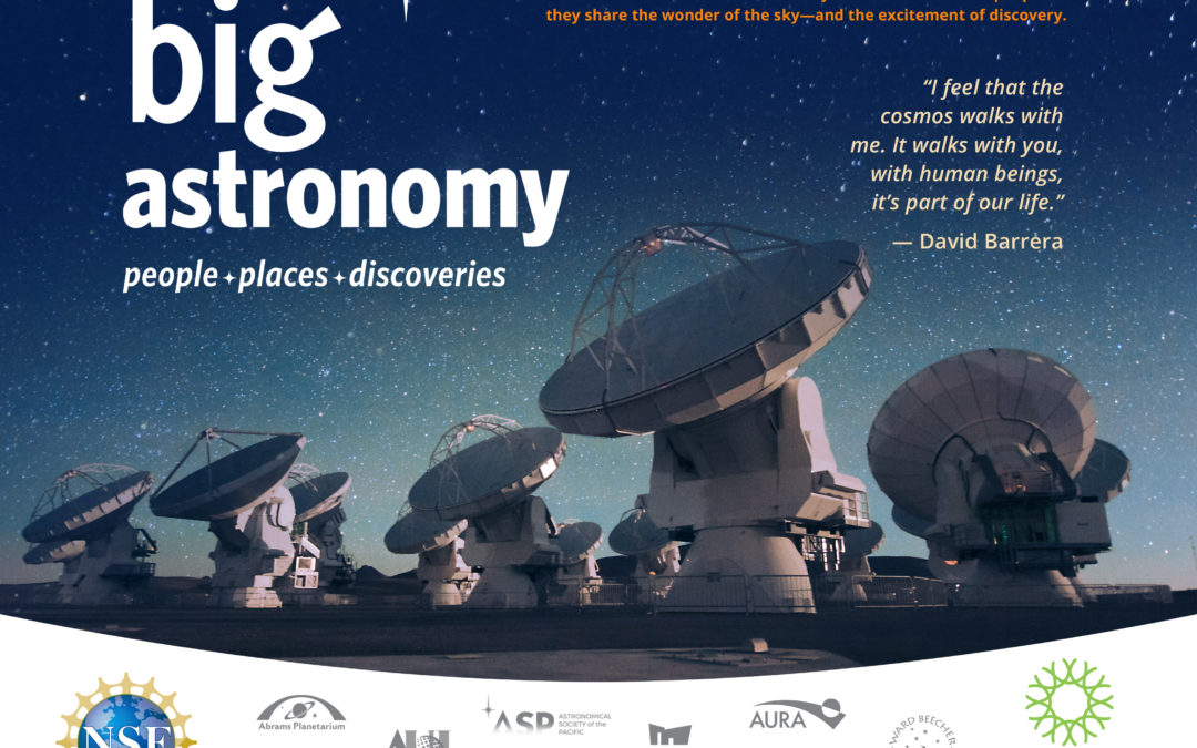 Big Astronomy Premieres Virtually on September 26